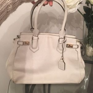 White Henri Bendel Satchel